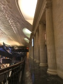 An eerily empty Union Station...
