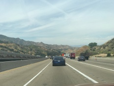 The drive out of LA to I-5 isn't too shabby. You may not get the coastal view, but the mountains are pretty gorgeous.