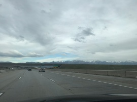 Driving into SLC is pretty spectacular.