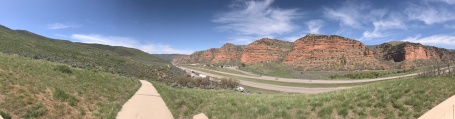 Panoramic of this beautiful country side.