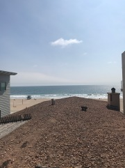 Final shots from the playa. View from my deck in Manhattan Beach.