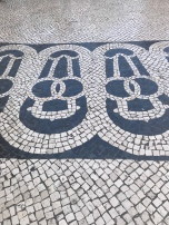 The artwork you see in the sidewalks of Lisboa is really something. I have no doubt they intended this to be an Obelisk, but all I can see is a penis and balls.