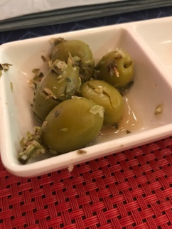 I'm converting into an olive fan. These were nom nom!!