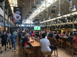 Time Out Market- giant, upscale food court with no less than 40 different food stalls/restaurants. Had an amazing, housemade veggie burger!