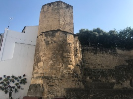 Have no idea what this site is, and whether it was from Roman or Moorish/Arab time period. That's the beauty of these cities in Andalusia- there is so much history they don't even put historical plaques on all of them!