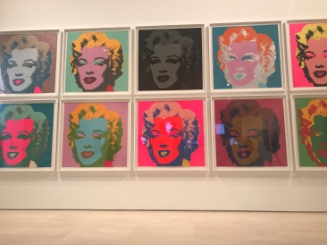 The only image I took at the Picasso museum. And definitely one of Warhol's most famous.