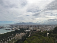 Stunning views of the city from the Castle