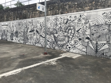 Mural at Coimbra-B train station
