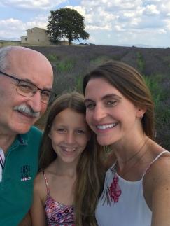 My tour guide (dad) and translator (Livia).