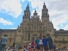 We made it! Check out that impressive Cathedral!