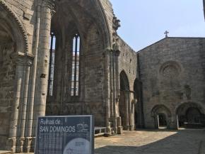 Ruins of late 13th century church, Santo Domingo.