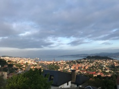 Another sunrise photo while leaving Vigo.