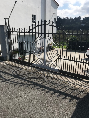 People who live on the Camino really seem to embrace its significance, and I frequently saw homes with a shell incorporated into the design in some way.