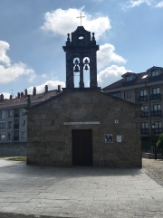 The tiniest chapel I saw along the Camino.