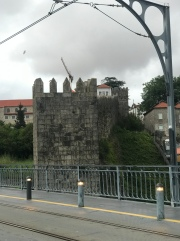 Part of the old medieval city wall.