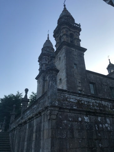 The Camino takes you past countless old, beautiful churches.