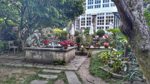 Because it has one of the most beautiful courtyards I've ever seen!