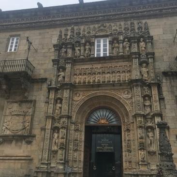 Hostal Dos Reís Católicos. Parador De Santiago.