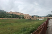 Approaching the Amber Fort