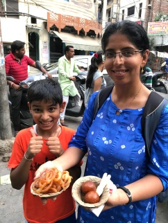 Indian desserts give a new meaning to the word sweet. Wowza. Vihaan approved.