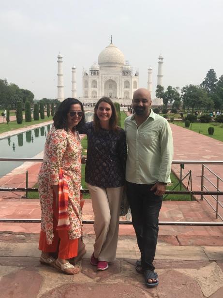 Anindita, me, and Aasheesh
