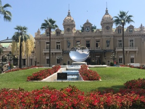 The famous Monte Carlo Casino.