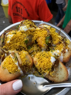 Dahi Puri. My mouth is watering writing this description.