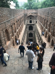 Ugrasen ki Baoli. Wish I could have spent more time there, it was amazing. But the mosquitoes were so thick we ran in and out, stayed only long enough for me to snap a photo.
