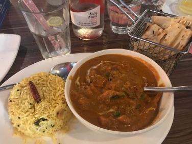 Best vegetarian curry I've ever eaten.