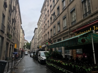 Chinatown in Lyon.