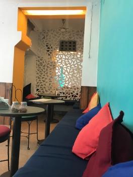 Cafe Edleweiss interior