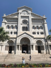 The Cathedral where Princess Grace was married (and is buried).