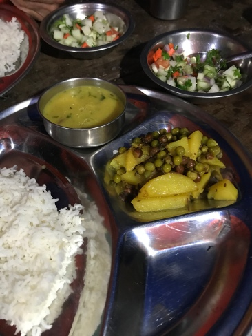 We had some version of this (dal bhat) every day/night, but Sharmela managed to change things up with her mix of veggies and flavors that it never got old. So tasty!