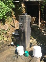Water fountain/shower.