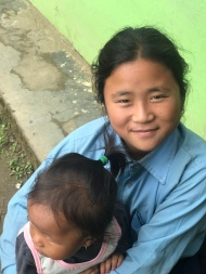 Javika, who I adore, is in 5th grade. She has an amazing attitude and exudes positivity, and is smart and capable of learning, but sadly, is about 2-3 grade levels behind in most subjects. Nepal is failing these children.