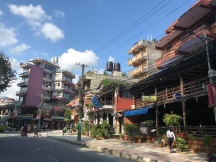 Pokhara is not immune to crazy, overloaded electrical poles.