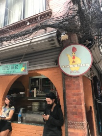 If in KTM, you MUST go here. If you hate falafel, they do have chicken wraps and bowls.