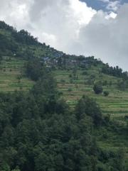 Paudwar (from a distance)