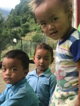 The two boys are in preschool and the little girl, Nisma, is in 1st grade.