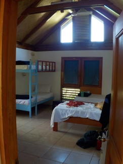 My room for the week.