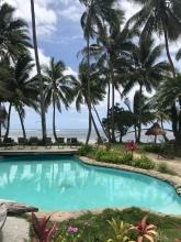 The lovely little resort pool.