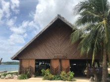 This entire building and area have been reconstructed since Cyclone Pam in 2015.