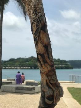 The ni-Vanuatu are amazing at wood carving.
