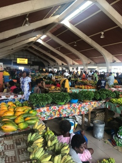 The amazing produce market!