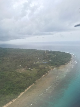 Arriving to Santo.