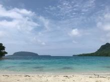 Champagne Beach in Santo.