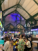 Another interior view of Lau Pa Sat.