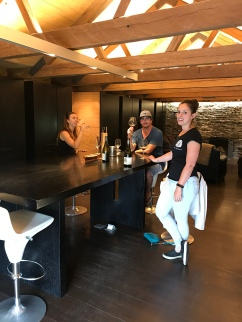 Wet Jacket tasting room! This was former home to a family of 9, AND barn for animals!