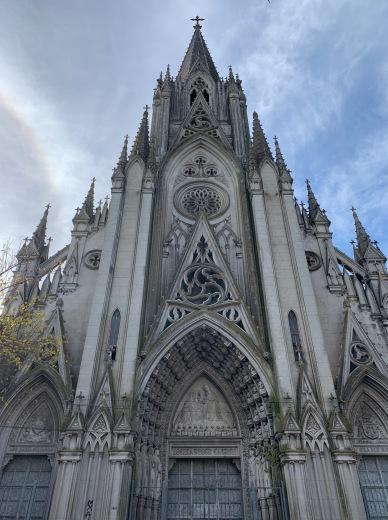 Virgen del Carmen y Santa Teresita (Gothic Cathedral)